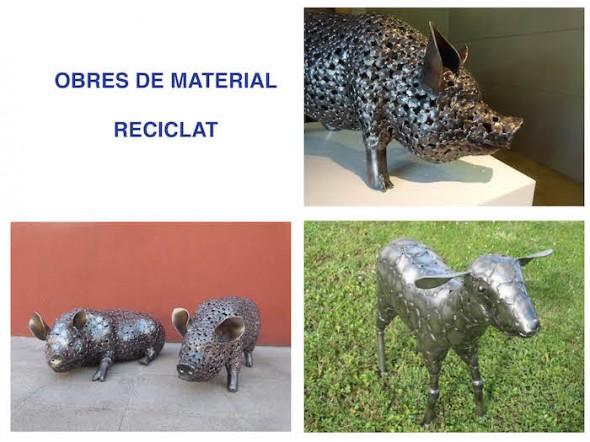 Obres de Material Reciclat